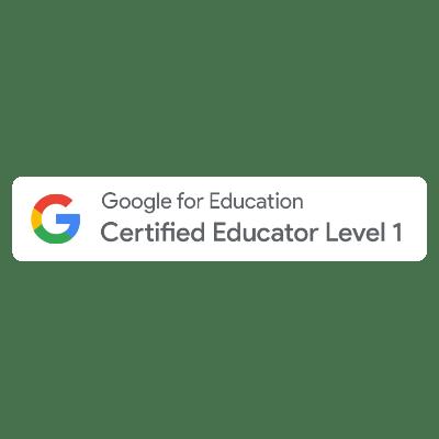 Google Educator Level 1